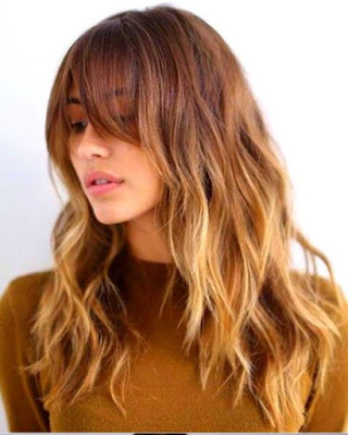 Medium Layered Haircut with Bangs - 20 Best Medium Layered Haircut - For Women Of All Ages