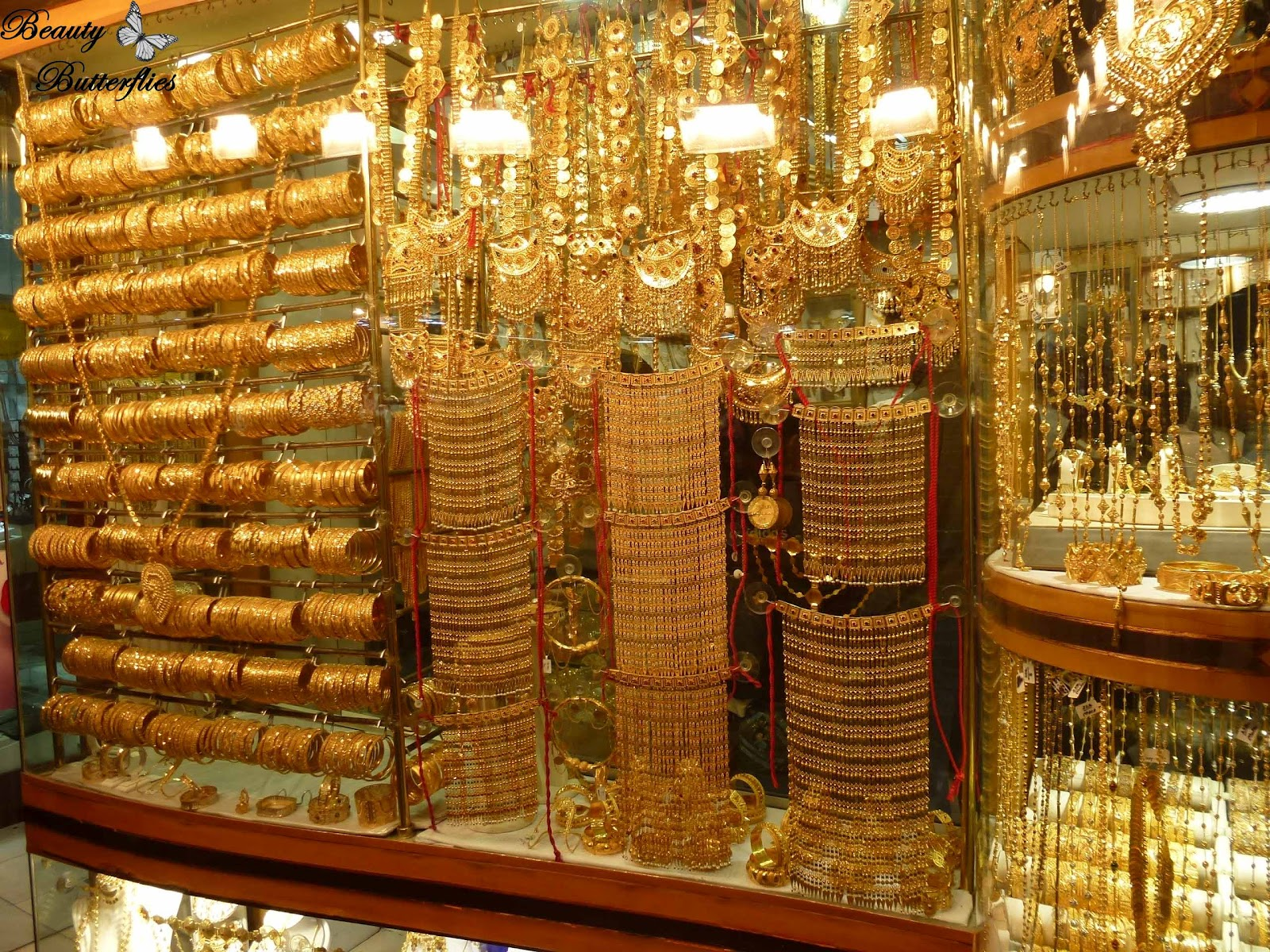 Urlaub Dubai  Gold Souk