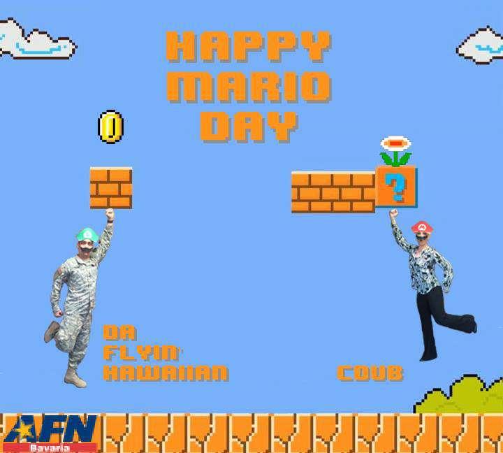 Mario Day Wishes Photos