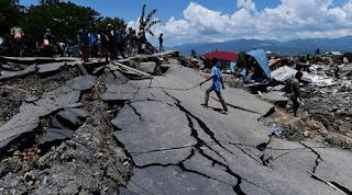 puisi bencana alam Indonesia Tentang Gempa Lombok