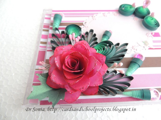 Paper flower making for cards boatremyeaton paper mightylinksfo