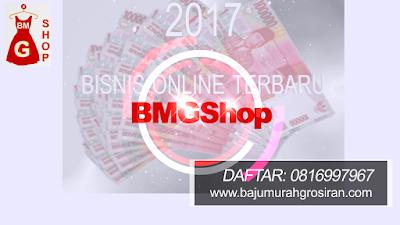 Pilih sales atau dropship