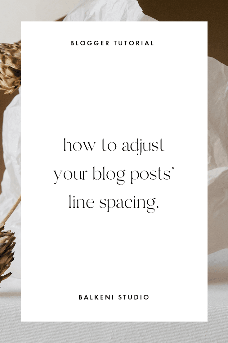 How to increase line height between lines in paragraphs on blogger blog tutorial