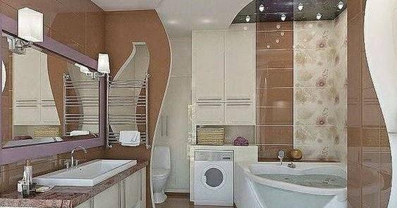 50 Modern Bathrooms: 50 Modern Bathroom Tile Design Ideas Catalog 2019