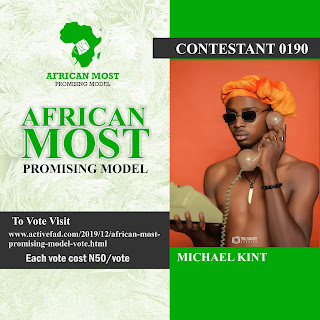 Vote African Most Promising Model 7 & 8