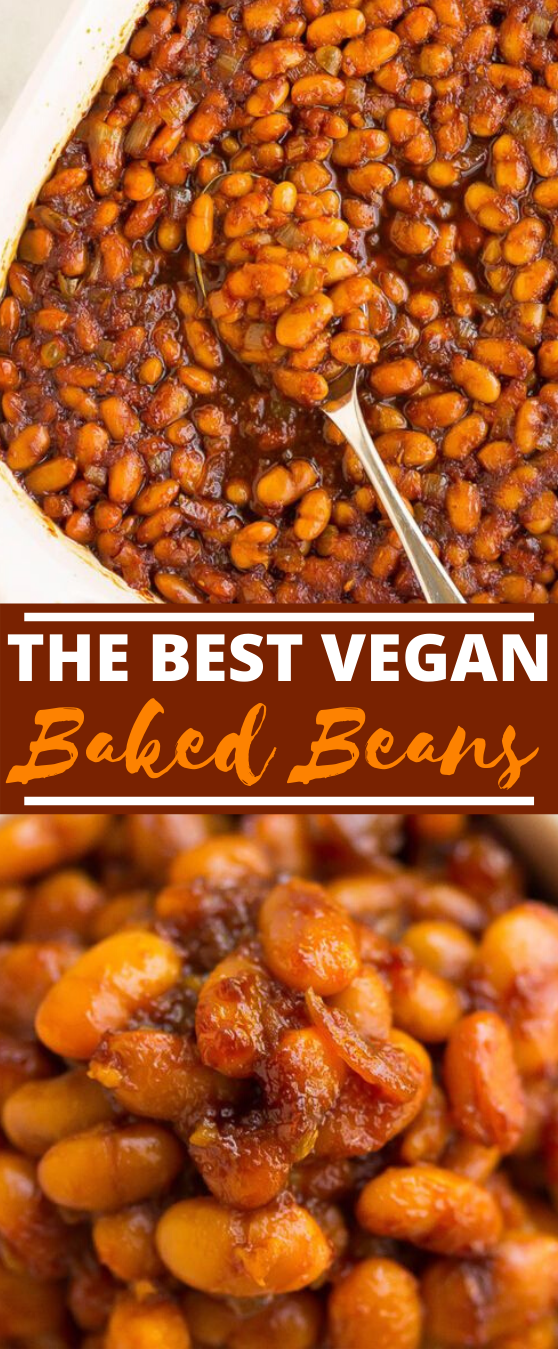 The Best Vegan Baked Beans #vegan #lunch #glutenfree #sandwich #vegetarian