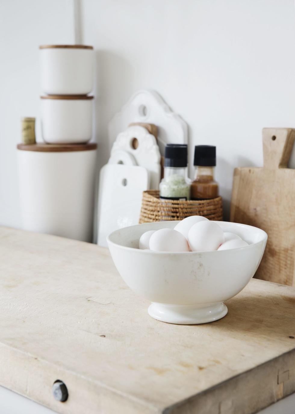 Detalle de la cocina blanca de Line Kay