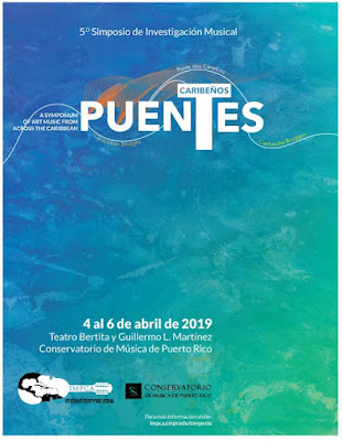 Puentes Caribeños: Symposium of Art Music from across the Caribbean April 4-6