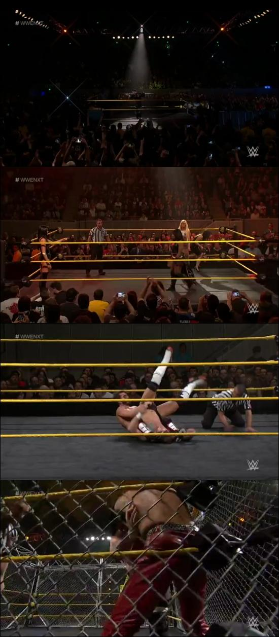 Screen Shot Of WWE NXT 4th January 2017 WebRip 480P 300MB
