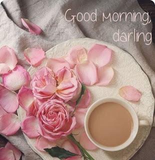 phpto Romantique Messages bonjour et souhaite  de bon matin avec images