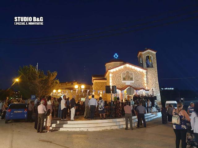 Η εορτή της Αγίας Μαρίνας στο Νέο Ροεινό Αργολίδας
