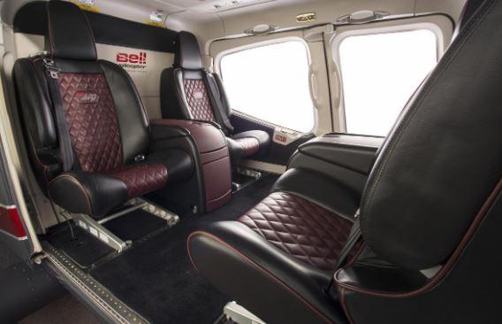 Bell 429WLG interior