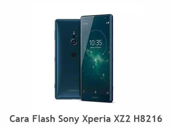Flash Sony Xperia XZ2 H8216