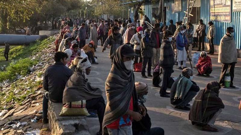 India Lockdown, Nasib Tunawisma Makin Menyedihkan