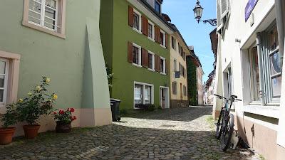 Gasse in der Altstadt von Bad Säckingen