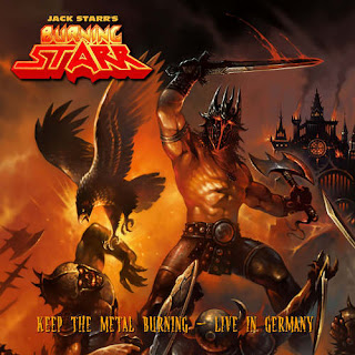 "Το album των Burning Starr ""Keep The Metal Burning"""
