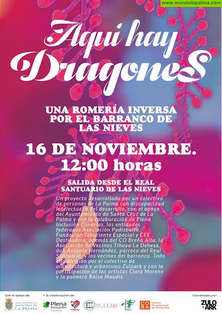 Zuloark organiza para este sábado una romería inversa por el Barranco de Las Nieves