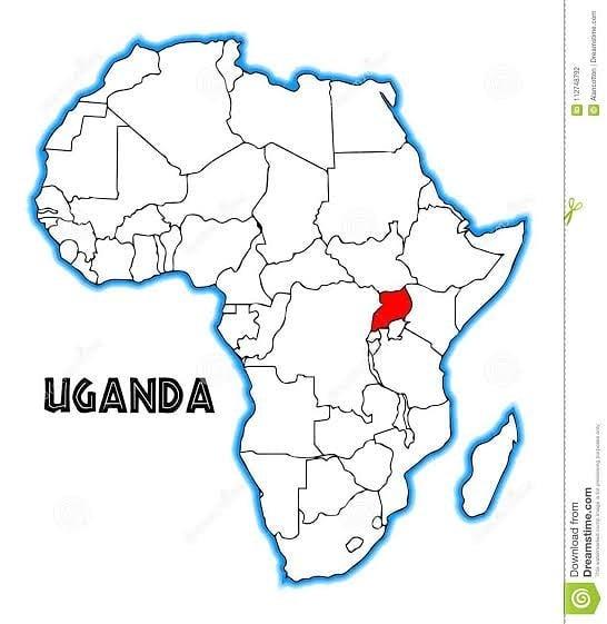 Países do Continente Africano: Uganda