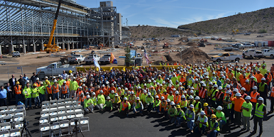 Phoenix Raceway Project Powered by DC Solar