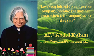 """Love your job but don't love your company, because you may not know when your company stops loving you."""