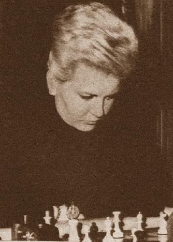 La ajedrecista Pepita Ferrer en 1964