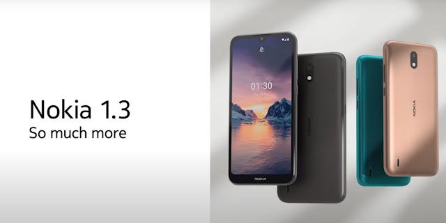 Nokia 1.3, le smartphone pour les petits budgets