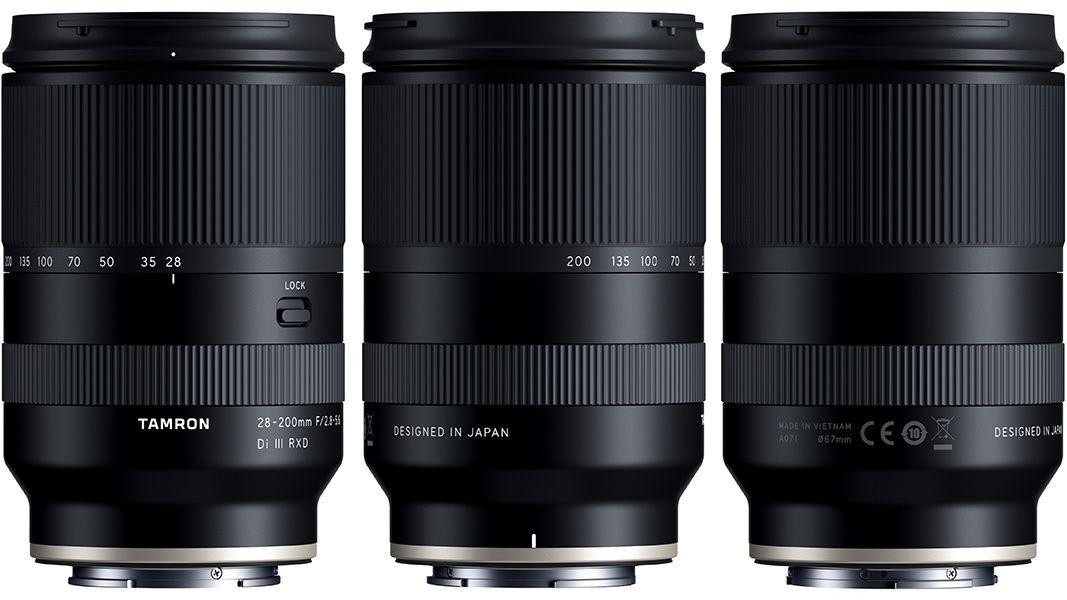 Объектив Tamron 28-200mm f/2.8-5.6 Di III RXD