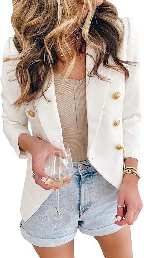 Quality White Blazers For Women