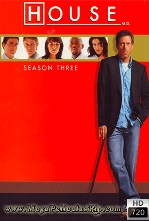 Dr. House Temporada 3 [720p] [Latino-Ingles] [MEGA]