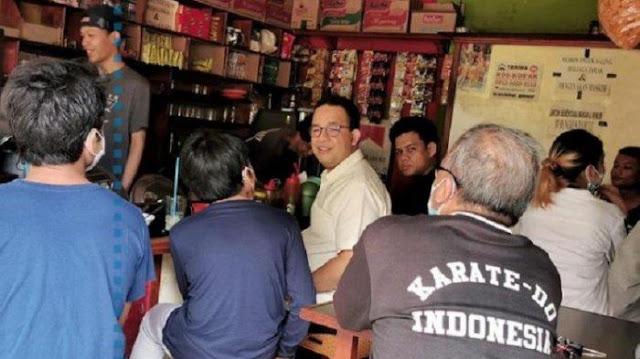 Cerita Anies Nongkrong di Warkop, Malah Ditanya Pegawai Bea Cukai, 'Bapak Kerja di Mana?'