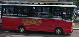Shuttle Suteraloop Alam Sutera Transportasi di Alam Sutera Serpong