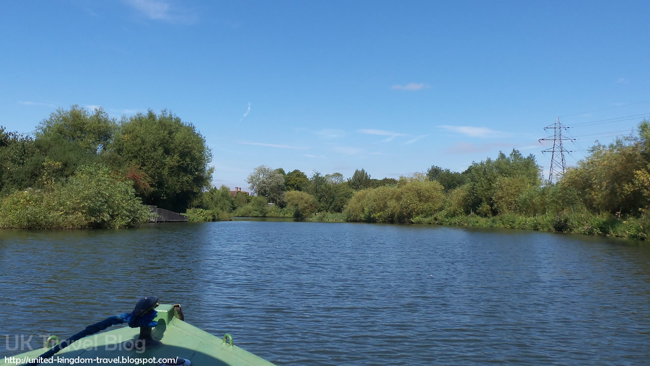 Boating on River Lee