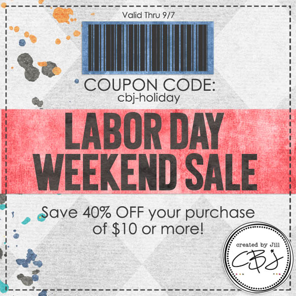 Labor Day Weekend Sale: Created By Jill: Labor Day Weekend Sale & Specials