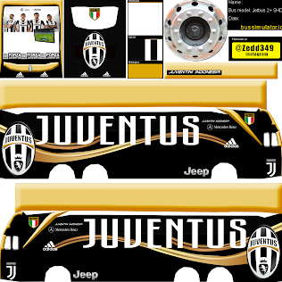 Livery Bussid Juventus