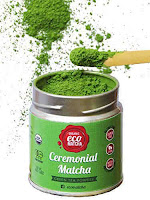 Ecoheed ceremonial grade matcha green tea