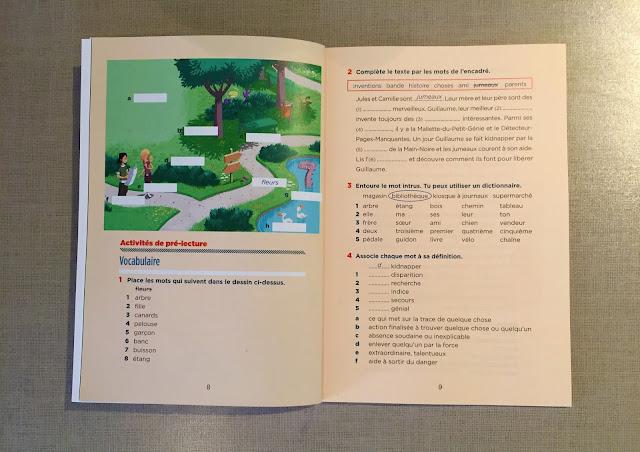 """Recenzje #192 - """"À la recherche de l'ami disparu"""" - ćwiczenia przed rozpoczęciem czytania książki - Francuski przy kawie"""