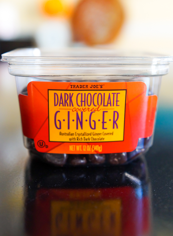 trader joe's dark chocolate covered ginger review