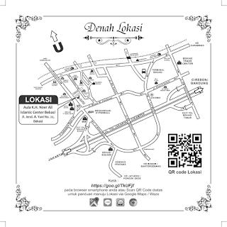 Denah Aula KH. Noer Alie - Islamic Center Bekasi