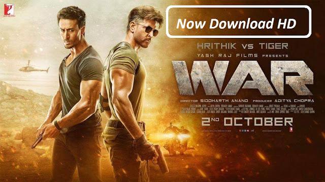 War Hindi Full Movie Leaked Online By Tamilrockers