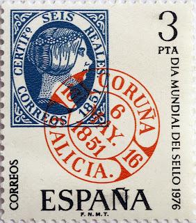 DÍA MUNDIAL DEL SELLO 1976