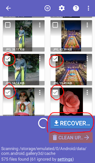 how to recover deleted photos from sd card on android phone