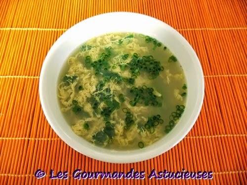 Comment faire une soupe aux oeufs ?