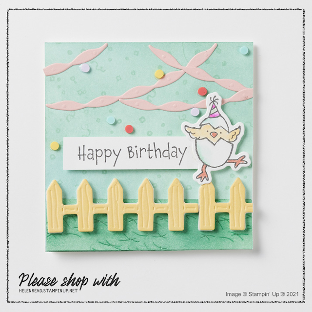 Hey Birthday Chick Stampin Up