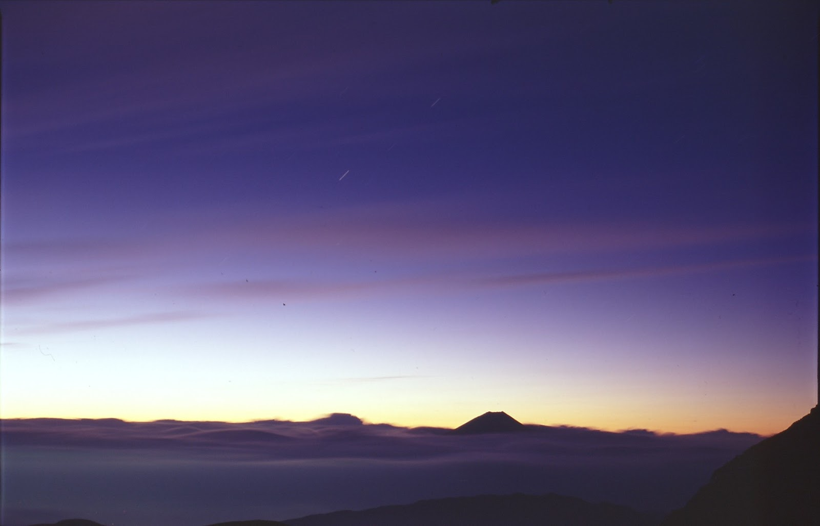 ブロニカS2 ニッコール75mm 北岳