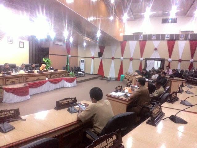 HIPMI Pare Audiens Dengan Komisi II DPRD