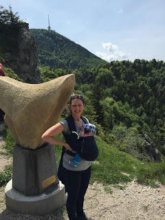 Melanie und Nino am Berg