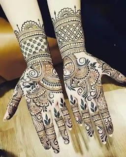 Classic Hand Mehndi Design Khafif