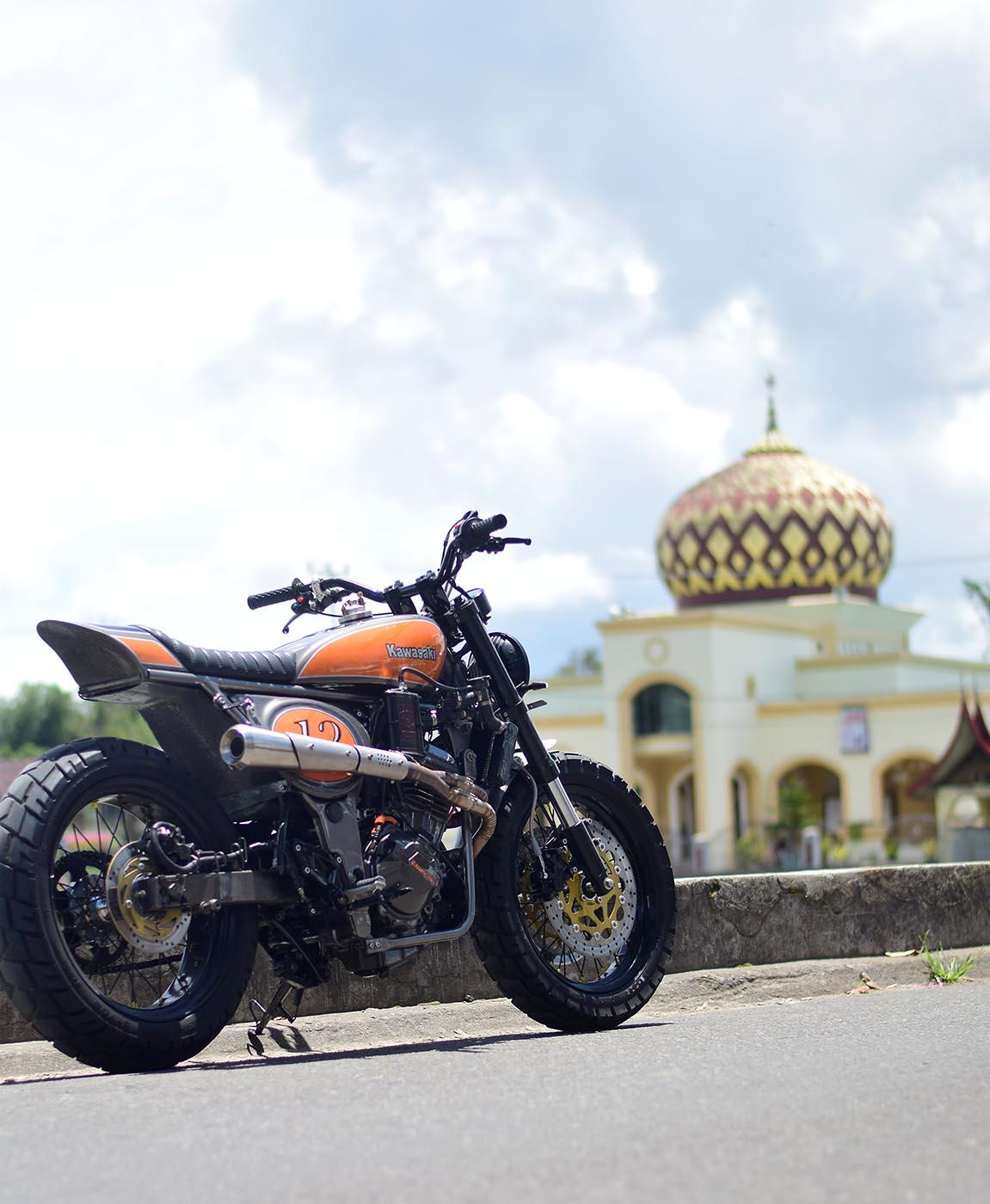 Modifikasi Kawasaki Ninja 250 Custom