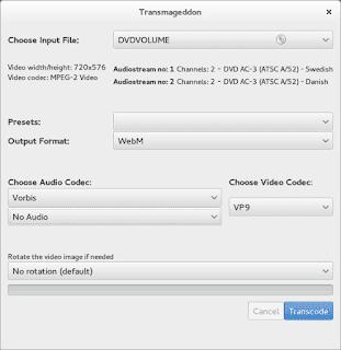 Any Video Converter Transmageddon Application Overview
