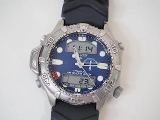 シチズン プロマスターC500 電池式腕時計をお買い取りいたしました AIDA ワールドカップ2000年 記念モデル